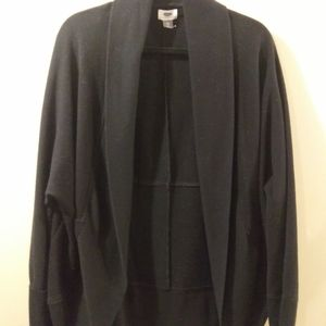 Old Navy, Black Open Jacket,  Size XXL